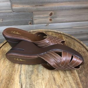 Cole Haan Nike Air brown Sandals Size 7 1/2